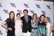 Cast members Allison Strong, Kate Loprest, Matt Walton, Megan Sikora, Dierdre Friel and Kerry Butler attend Under My Skin Opening Night at Shubert Theatre on May 15, 2014 in New York City.