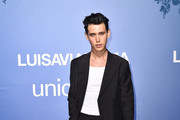 Austin Butler attends the photocall at the Unicef Summer Gala Presented by Luisaviaroma at  on August 09, 2019 in Porto Cervo, Italy.