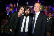 (L-R) Actress Gaby Hoffmann, actor Jason Schwartzman, and honoree Roy Price attend United Friends Of The Children Brass Ring Awards Dinner honoring Roy Price and Ande Rosenblum at The Beverly Hilton Hotel on June 2, 2015 in Beverly Hills, California.