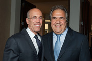 Jeffrey Katzenberg (L) and Jim Gianopulos attend United Friends Of The Children, Brass Ring Awards Dinner 2014 at The Beverly Hilton Hotel on June 3, 2014 in Beverly Hills, California.