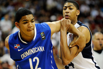 Karl Towns United States v Dominican Republic - Men's Exhibition Game