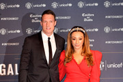 Phil Jones and wife Kaya Jones attend the United for Unicef Gala Dinner at Old Trafford on January 22, 2019 in Manchester, England.
