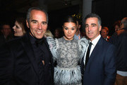 (L-R) Republic Records CEO Monte Lipman, Hailee Steinfeld and Republic Records COO Avery Lipman attend Universal Music Group's 2019 After Party Presented by Citi Celebrates Music's Biggest Night on February 9, 2019 in Los Angeles, California.