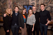 (L-R) Alex Witt, Dean-Charles Chapman, Emily Mortimer, Sarah Jessica Parker, Sam Mendes and George MacKay attend a special screening of '1917', hosted by Sarah Jessica Parker and presented by Universal Pictures and DreamWorks Pictures on December 15, 2019 in New York City.