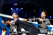 Ludacris (R) performs onstage during Universal Pictures Presents The Road To F9 Concert and Trailer Drop on January 31, 2020 in Miami, Florida.