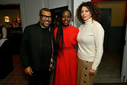 (L-R) Jordan Peele, Lupita Nyong'o, and Donna Langley attend a special screening of 'Us' presented by Universal Pictures on November 06, 2019 in New York City.