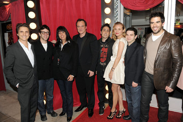 "Quentin Tarantino Diane Kruger Universal Studios Home Entertainment DVD Launch Of ""Inglourious Basterds"""