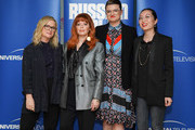 "(L-R) Amy Poehler, Natasha Lyonne, Leslye Headland and Rebecca Sun attend Universal Television's ""Russian Doll"" FYC at UCB Sunset Theater on June 03, 2019 in Los Angeles, California."
