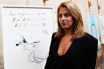 Tracey Emin Unveiling of Official Olympic and Paralympic Posters For London 2012 Olympic Games