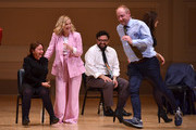 (L-R) Rachel Dratch, Amy Poehler, Horatio Sanz and Matt Walsh perform onstage during ASSSSCAT with the Upright Citizens Brigade Live at Carnegie Hall celebrating the 20th Anniversary of Del Close Marathon on June 28, 2018 in New York City.
