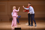 Amy Poehler and Matt Walsh perform onstage during ASSSSCAT with the Upright Citizens Brigade Live at Carnegie Hall celebrating the 20th Anniversary of Del Close Marathon on June 28, 2018 in New York City.