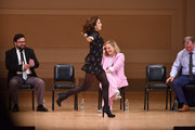 (L-R) Horatio Sanz, Tina Fey and Amy Poehler perform onstage during ASSSSCAT with the Upright Citizens Brigade Live at Carnegie Hall celebrating the 20th Anniversary of Del Close Marathon on June 28, 2018 in New York City.