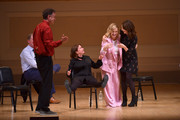 (L-R) Matt Besser Rachel Dratch, Amy Poehler and Tina Fey perform onstage during ASSSSCAT with the Upright Citizens Brigade Live at Carnegie Hall celebrating the 20th Anniversary of Del Close Marathon on June 28, 2018 in New York City.