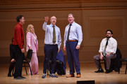 (L-R) Matt Besser, Amy Poehler, Matt Walsh, Ian Roberts and Horatio Sanz perform onstage during ASSSSCAT with the Upright Citizens Brigade Live at Carnegie Hall celebrating the 20th Anniversary of Del Close Marathon on June 28, 2018 in New York City.