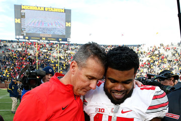 Urban Meyer Ezekiel Elliott Ohio State v Michigan