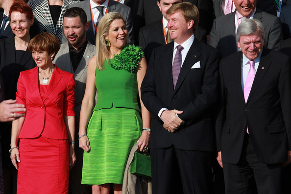 King Willem-Alexander and Queen Maxima Visit Hesse