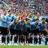Diego Godin Diego Laxalt Photos - Uruguay pose for a team photo during the 2018 FIFA World Cup Russia Quarter Final match between Uruguay and France at Nizhny Novgorod Stadium on July 6, 2018 in Nizhny Novgorod, Russia. - Uruguay vs. France: Quarter Final - 2018 FIFA World Cup Russia