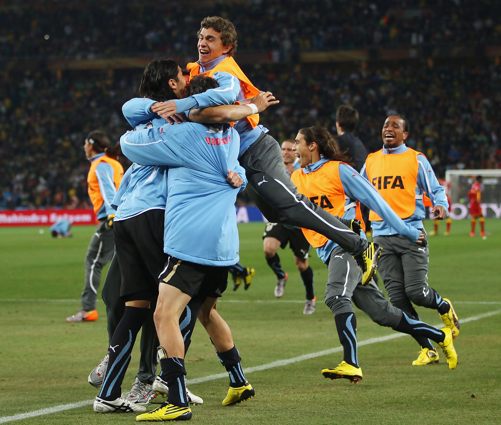 Image result for uruguay 2010 world cup quarter final