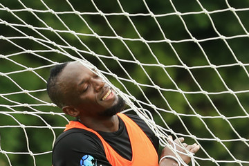 Usain Bolt Soccer Aid For UNICEF Media Access
