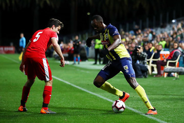 Usain Bolt Central Coast Mariners vs. Central Coast Football