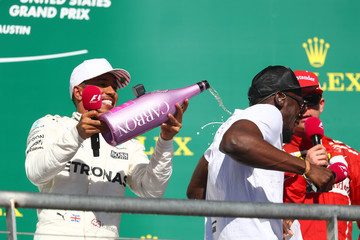 Usain Bolt F1 Grand Prix of USA