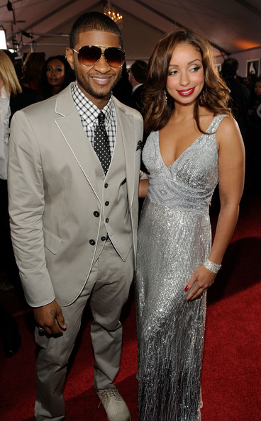 who is usher dating grace miguel