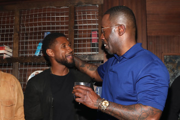 Usher Mark Pitts The 8th Annual Mark Pitts And Bystorm Ent Post BET Awards Party
