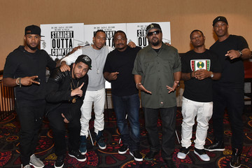 Usher 'Straight Outta Compton' VIP Screening With Director/ Producer F. Gary Gray, Producer Ice Cube, Executive Producer Will Packer, And Cast Members