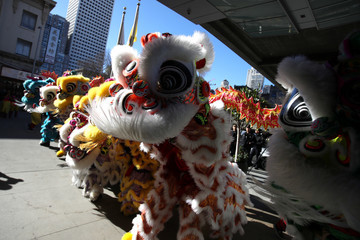 Usher San Francisco Welcomes In Chinese New Year