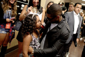Usher 2014 iHeartRadio Music Festival - Night 1 - Backstage