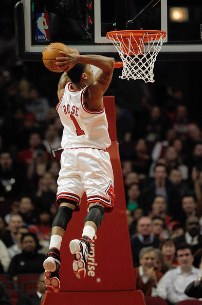 Kusinexyz Derrick Rose Dunk On Knicks