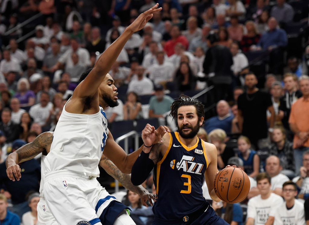 19fcac005 Ricky Rubio Photos»Photostream · Main · Articles · Pictures · Utah Jazz v  Minnesota Timberwolves