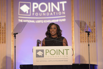 Uzo Aduba Point Honors Gala Honoring Uzo Aduba, Dustin Lance Black and Thomas Roberts  - Inside