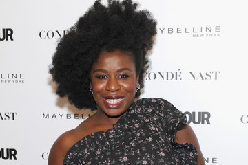 Uzo Aduba Glamour's 'The Girl Project'Hosts Rally on International Day of the Girl - Arrivals