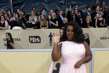 Uzo Aduba 24th Annual Screen Actors Guild Awards - Arrivals