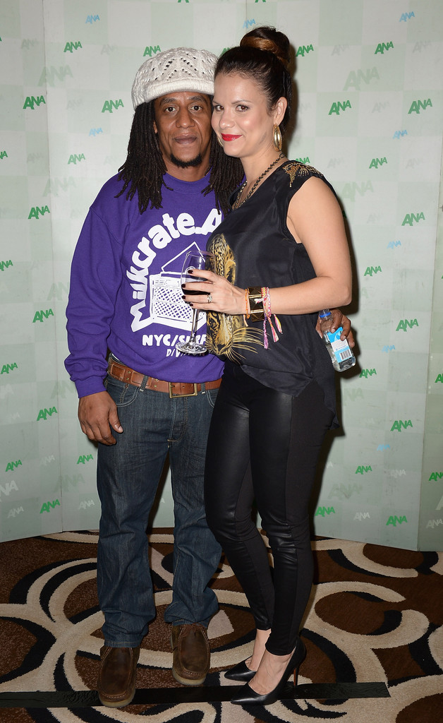 Tego Calderón with beautiful, Wife Michelle Peterbauer