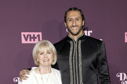 Colin Kaepernick (R) and his mother attend VH1's 3rd annual 'Dear Mama: A Love Letter To Moms' screening at The Theatre at Ace Hotel on May 3, 2018 in Los Angeles, California.