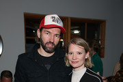 """Nash Edgerton and Mia Wasikowska attend VICE Studios' """"Judy & Punch"""" celebration at Stella's Film Lounge during the 2019 Sundance Film Festival at Stella's Film Lounge on January 27, 2019 in Park City, Utah."""