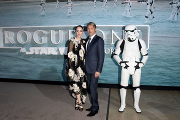 Valene Kane Red Carpet Arrivals Of Lucasfilm's 'Rogue One: A Star Wars Story'
