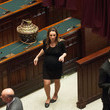 Valentina Vezzali Italy's Parliament Holds First Session