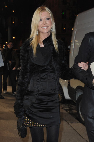 Actress Tara Reid arrives at the Valentino show as part of the Paris Haute Couture Fashion Week Spring/Summer 2011 at Couvent des Cordeliers on January 26, 2011 in Paris, France.