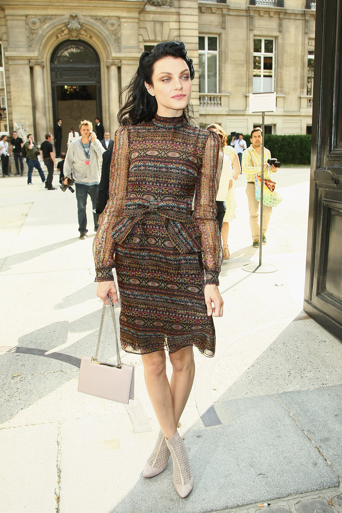Jessica Stam's Eclectic Style