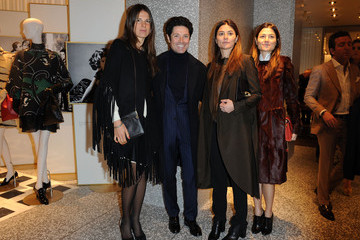 Veronica Sgaravatti Valentino Flagship Store Opening - Milan Fashion Week Womenswear Autumn/Winter 2012/2013