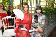 Negin Mirsalehi and Susie Lau attend the Valentino Haute Couture Fall/Winter 2019 2020 show as part of Paris Fashion Week on July 03, 2019 in Paris, France.