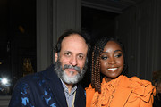 Luca Guadagnino and Kiki Layne attend the Valentino Haute Couture Spring/Summer 2020 show as part of Paris Fashion Week on January 22, 2020 in Paris, France.