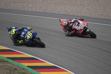 Valentino Rossi Jorge Lorenzo MotoGp Of Germany - Race