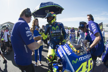 Valentino Rossi MotoGp of Great Britain - Race