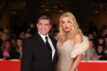 Valeria Marini Award Ceremony Red Carpet - The 8th Rome Film Festival