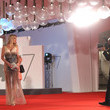 "Valeria Marini ""30 Monedas"" (30 Coins) - Episode 1 Red Carpet - The 77th Venice Film Festival"