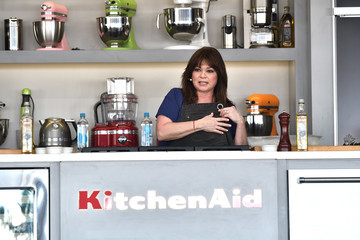 Valerie Bertinelli Goya Foods' Grand Tasting Village Featuring Mastercard Grand Tasting Tents & KitchenAid Culinary Demonstrations - Day 1